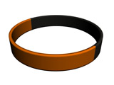 Segmenterad Orange/Black